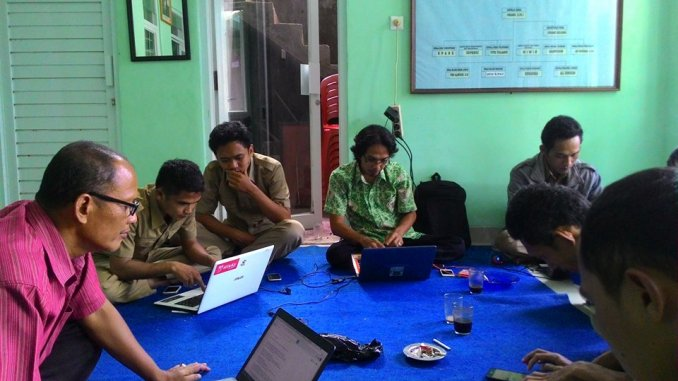 Pelatihan Operator Desa Kawasan Pancamandala