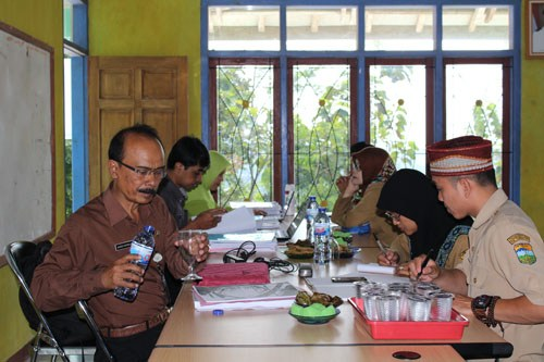 Pembinaan Oleh Inspektorat Di Desa Kertarahayu Kawasan Panca Mandala