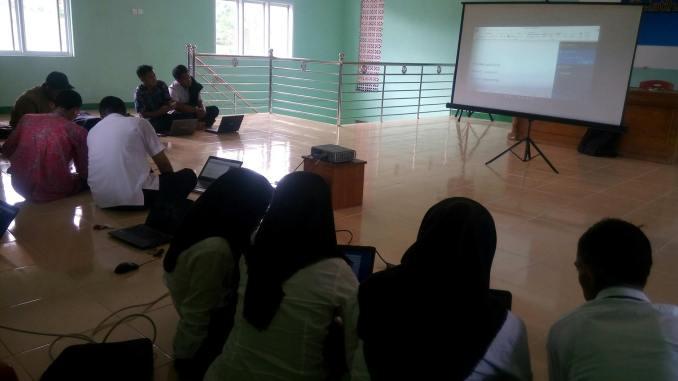 Pelatihan Aplikasi SIDEKA Versi 2.0.9 Terbaru dihadiri 7 Desa